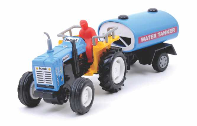 Tractor with Tanker