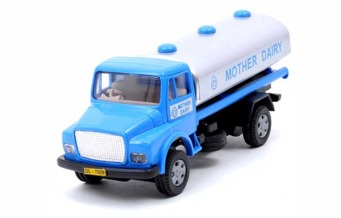 TELCO Mother Dairy Tanker
